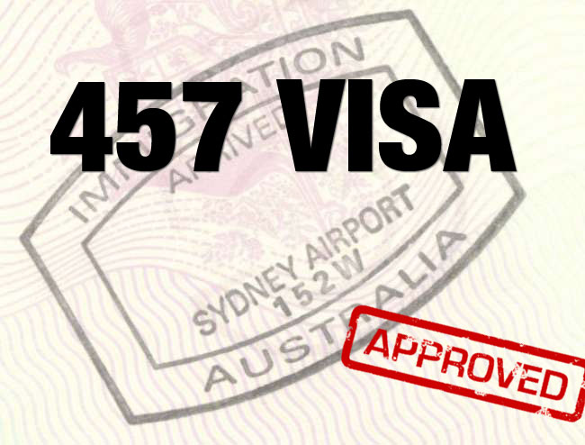 457 Visa - Erskine Rodan and Associates