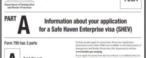 Safe Haven Enterprise Visa