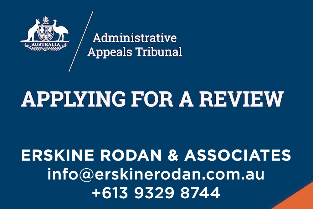 full steam ahead with the administrative appeals tribunal